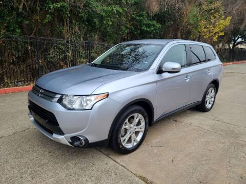2015 Mitsubishi Outlander for sale at DFW Autohaus in Dallas TX