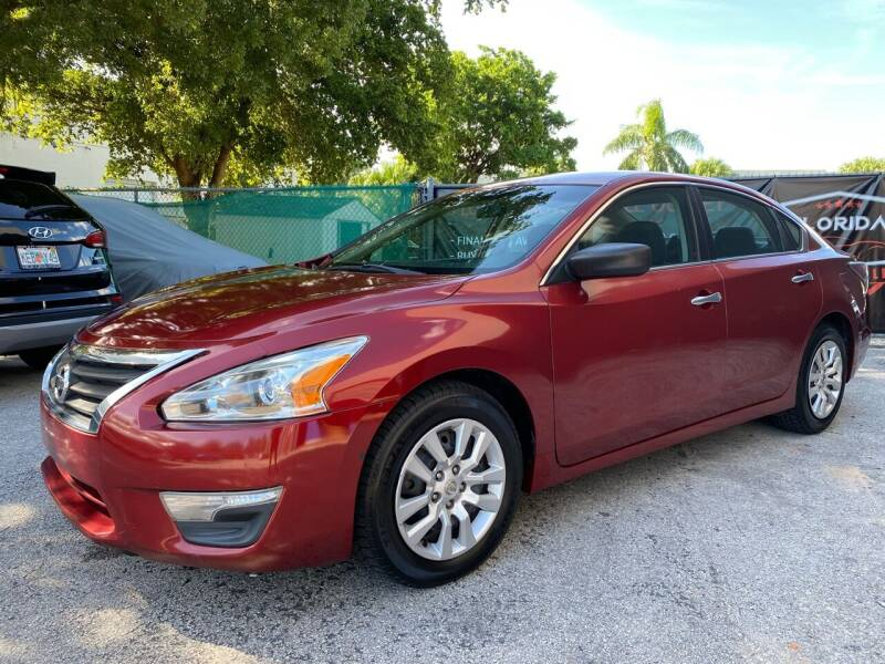 2014 Nissan Altima for sale at Florida Automobile Outlet in Miami FL