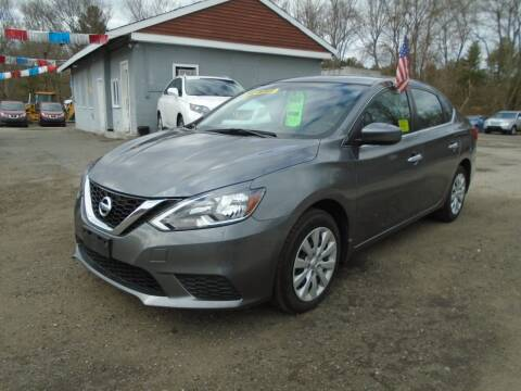 2017 Nissan Sentra for sale at Taunton Auto & Truck Sales in Taunton MA