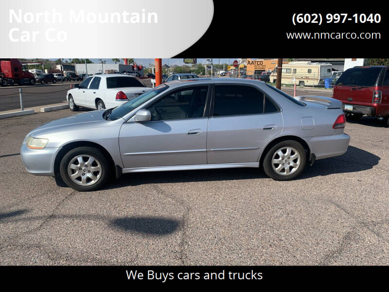 2001 Honda Accord for sale at North Mountain Car Co in Phoenix AZ