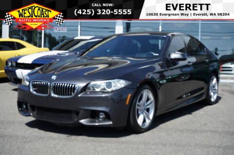 2015 BMW 5 Series for sale at West Coast Auto Works in Edmonds WA