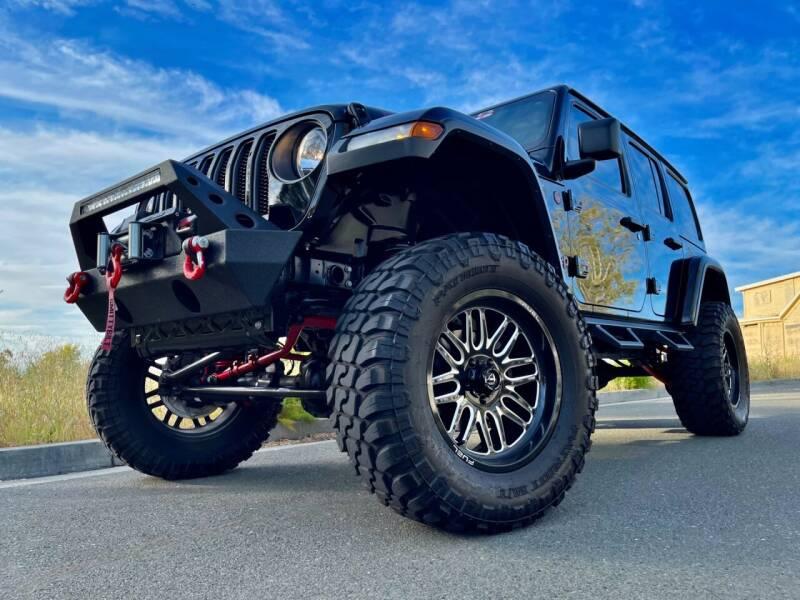 2020 Jeep Wrangler Unlimited for sale at Pro Auto Showroom in Santa Clara CA