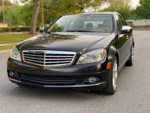2008 Mercedes-Benz C-Class for sale at Presidents Cars LLC in Orlando FL