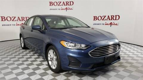 2019 Ford Fusion for sale at BOZARD FORD in Saint Augustine FL