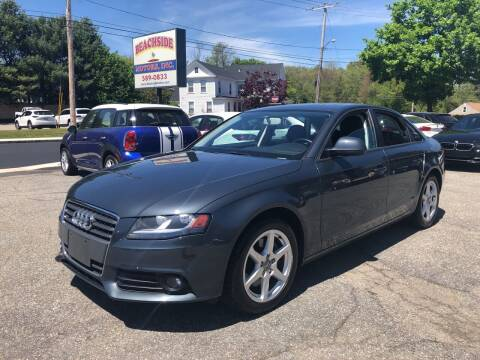 2009 Audi A4 for sale at Beachside Motors, Inc. in Ludlow MA