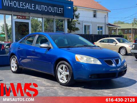 2007 Pontiac G6 for sale at MWS Wholesale  Auto Outlet in Grand Rapids MI