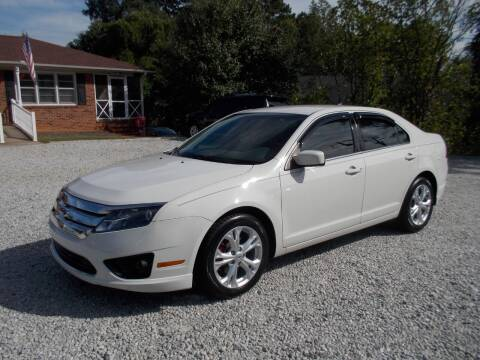 2012 Ford Fusion for sale at Carolina Auto Connection & Motorsports in Spartanburg SC