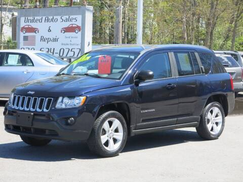 2011 Jeep Compass for sale at United Auto Service in Leominster MA