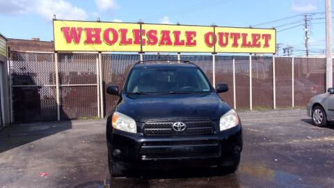 2006 Toyota RAV4 for sale at LONG BROTHERS CAR COMPANY in Cleveland OH