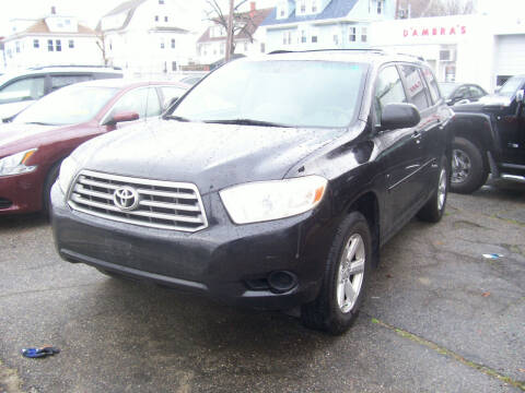 2009 Toyota Highlander for sale at Dambra Auto Sales in Providence RI