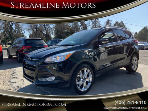 2014 Ford Escape for sale at Streamline Motors in Billings MT