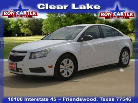 2012 Chevrolet Cruze for sale at Ron Carter  Clear Lake Used Cars in Houston TX