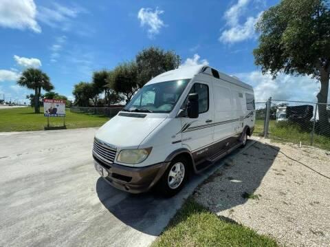 2006 Dodge Sprinter 2500 Leisure Travel Van/Free Spirit for sale at AUTO CARE CENTER INC in Fort Pierce FL