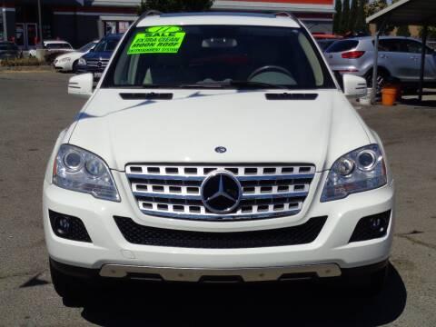2011 Mercedes-Benz M-Class for sale at Vallejo Motors in Vallejo CA