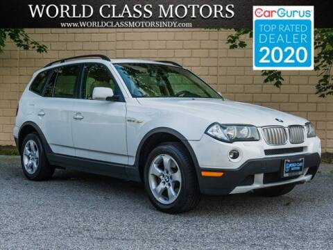 2008 BMW X3 for sale at World Class Motors LLC in Noblesville IN