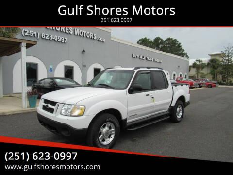 2001 Ford Explorer Sport Trac for sale at Gulf Shores Motors in Gulf Shores AL