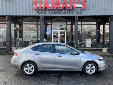 2015 Dodge Dart for sale at Siamak's Car Company llc in Salem OR