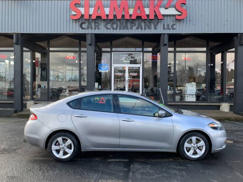 2015 Dodge Dart for sale at Siamak's Car Company llc in Salem OR