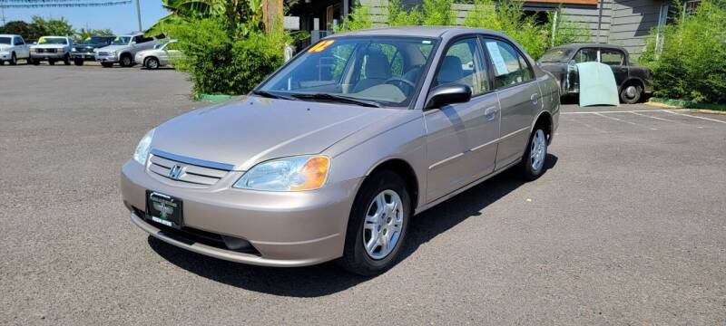 2002 Honda Civic for sale at Persian Motors in Cornelius OR