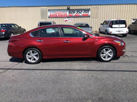 2013 Nissan Altima for sale at Stikeleather Auto Sales in Taylorsville NC