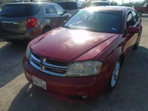 2012 Dodge Avenger for sale at SCOTT HARRISON MOTOR CO in Houston TX