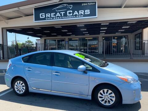 2012 Toyota Prius Plug-in Hybrid for sale at Great Cars in Sacramento CA