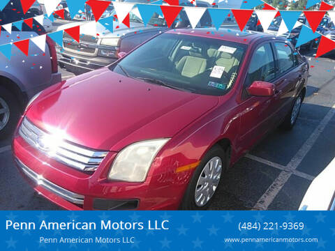 2006 Ford Fusion for sale at Penn American Motors LLC in Allentown PA