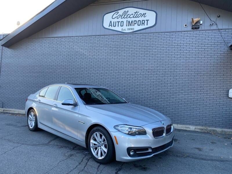 2015 BMW 5 Series for sale at Collection Auto Import in Charlotte NC