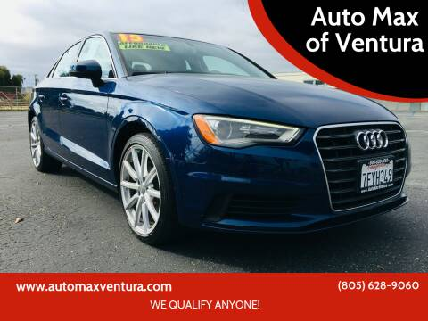 2015 Audi A3 for sale at Auto Max of Ventura in Ventura CA