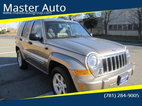 2006 Jeep Liberty for sale at Master Auto in Revere MA