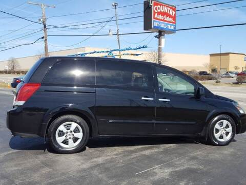 2007 Nissan Quest for sale at Country Auto Sales in Boardman OH