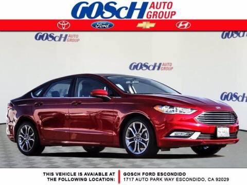 2017 Ford Fusion for sale at BILLY D SELLS CARS! in Temecula CA