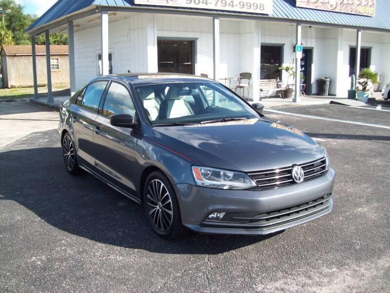 2016 Volkswagen Jetta for sale at LONGSTREET AUTO in St Augustine FL