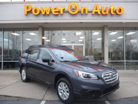2017 Subaru Outback for sale at Power On Auto LLC in Monroe NC