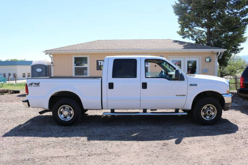 2002 Ford F-250 Super Duty for sale at Northern Colorado auto sales Inc in Fort Collins CO