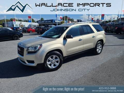2016 GMC Acadia for sale at WALLACE IMPORTS OF JOHNSON CITY in Johnson City TN