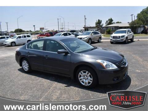 2011 Nissan Altima for sale at Carlisle Motors in Lubbock TX