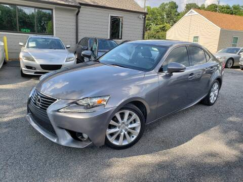 2014 Lexus IS 250 for sale at M & A Motors LLC in Marietta GA
