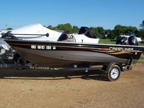2007 CRESTLINER FISH HAWK for sale at Tyndall Motors in Tyndall SD