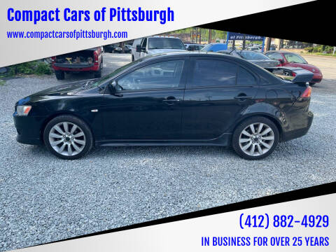 2008 Mitsubishi Lancer for sale at Compact Cars of Pittsburgh in Pittsburgh PA