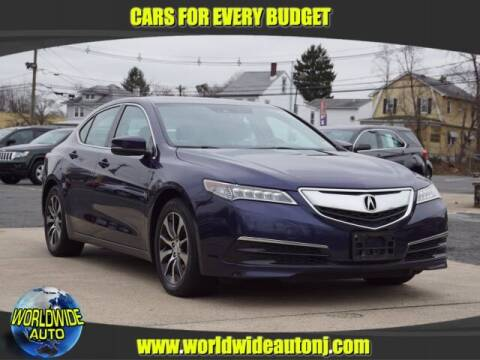 2016 Acura TLX for sale at Worldwide Auto in Hamilton NJ