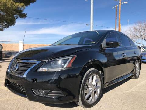 2014 Nissan Sentra for sale at Eastside Auto Sales in El Paso TX