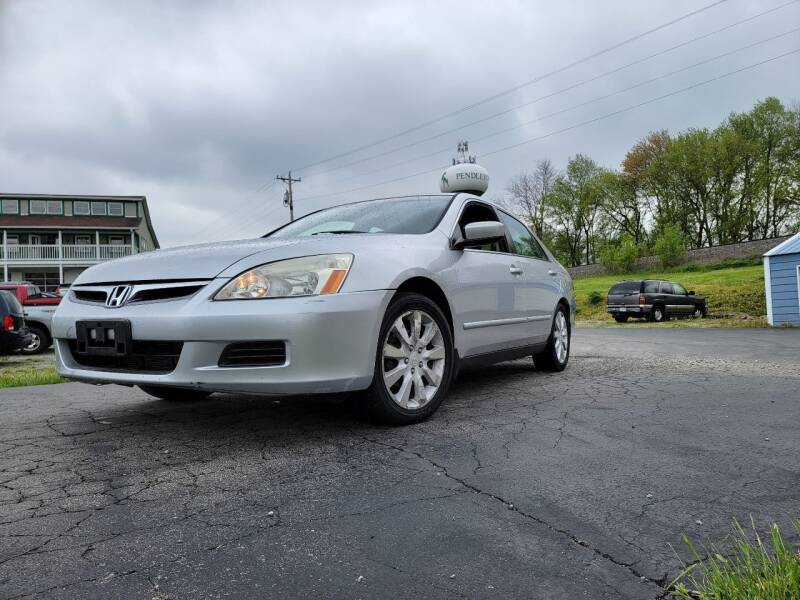 2006 Honda Accord for sale at Sinclair Auto Inc. in Pendleton IN