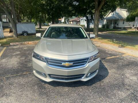 2015 Chevrolet Impala for sale at Mikhos 1 Auto Sales in Lansing MI