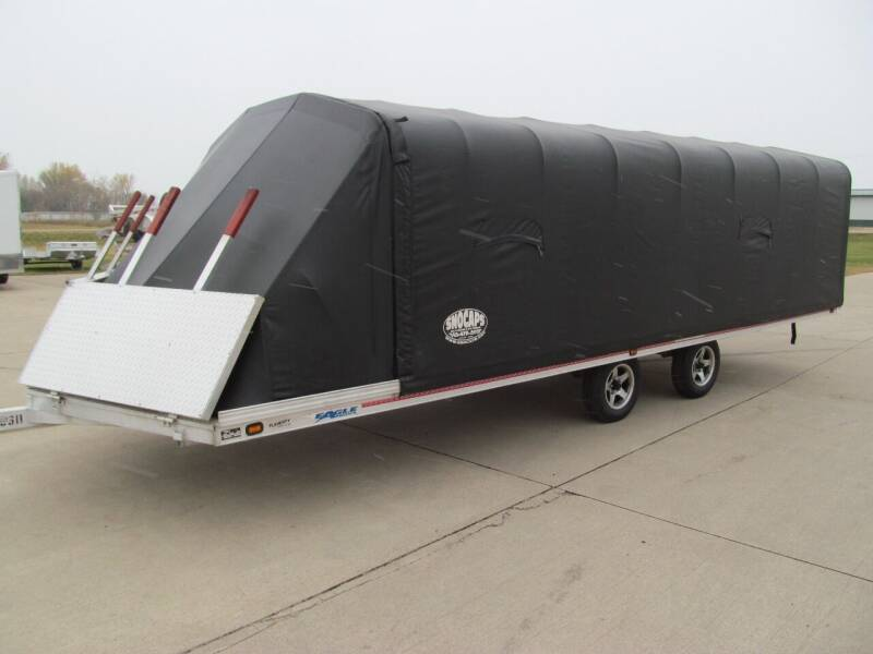 2001 Eagle 8.5 X 22 SNOWMOBILE TRAILER for sale at Flaherty's Hi-Tech Motorwerks in Albert Lea MN