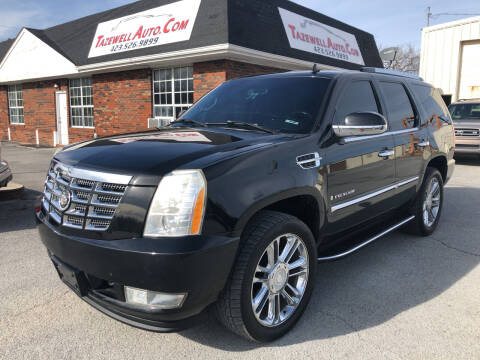2007 Cadillac Escalade for sale at tazewellauto.com in Tazewell TN