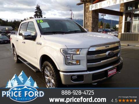 2016 Ford F-150 for sale at Price Ford Lincoln in Port Angeles WA