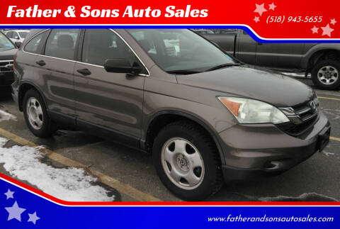2010 Honda CR-V for sale at Father & Sons Auto Sales in Leeds NY