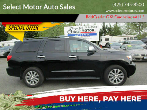 2010 Toyota Sequoia for sale at Select Motor Auto Sales in Lynnwood WA