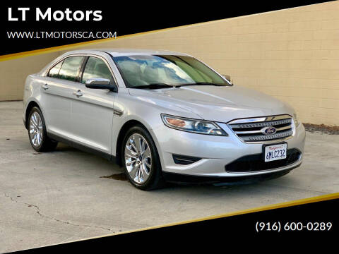 2011 Ford Taurus for sale at LT Motors in Rancho Cordova CA